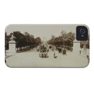 The Champs Elysees, Paris (sepia photo) iPhone 4 Cover