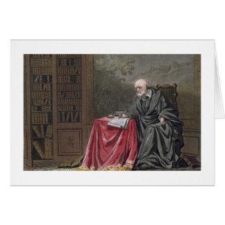 The Chancellor, Michel de l'Hopital (c.1503-73) Co Greeting Card