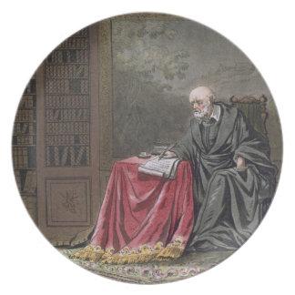 The Chancellor, Michel de l'Hopital (c.1503-73) Co Plate