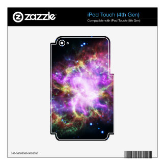 The Chandra X-ray in the Crab Nebula Decal For iPod Touch 4G