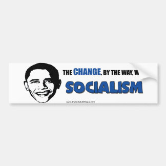 The Change, By the Way- Bumper Sticker Car Bumper Sticker