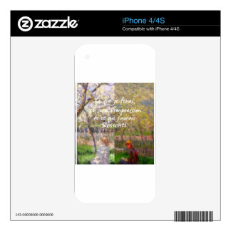 The change of the seasons renew my soul iPhone 4S skins