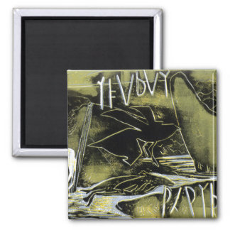 The Changing Centuries 2 Inch Square Magnet
