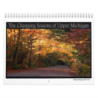 The Changing Seasons of Michigan's Upper Peninsula Calendar