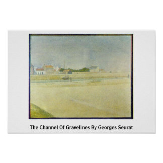 The Channel Of Gravelines By Georges Seurat Posters