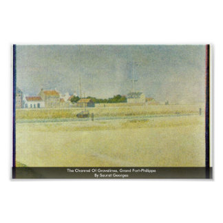 The Channel Of Gravelines, Grand Fort-Philippe Poster