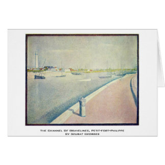 The Channel Of Gravelines, Petit-Fort-Philippe Greeting Card