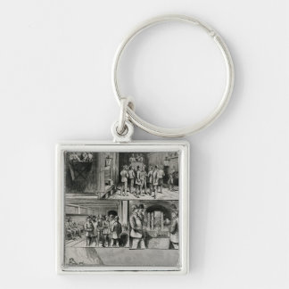 The Channel Tunnel Works at Dover Keychain