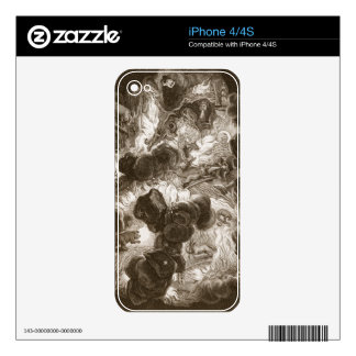 The Chaos, engraved by Bernard Picart (1673-1733), iPhone 4 Decal