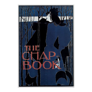 The Chap-Book ~ Blue Lady Poster
