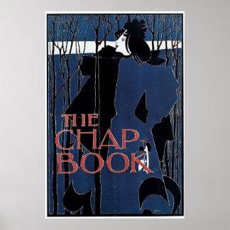 The Chap-Book ~ Blue Lady Print