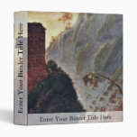 The Chapel Of The Virgin At Subiaco By Morse Samue 3 Ring Binder