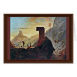 The Chapel Of The Virgin At Subiaco By Morse Samue Greeting Card