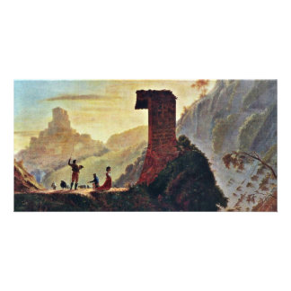 The Chapel Of The Virgin At Subiaco By Morse Samue Customized Photo Card