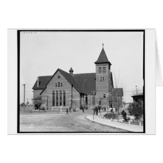 The chapel, Tuskegee Institute, Ala. c1906 Greeting Card