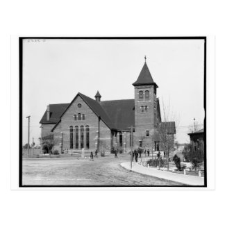 The chapel, Tuskegee Institute, Ala. c1906 Post Card