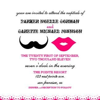 The Chaplin Invitation-2pink invitation