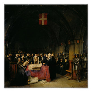 The Chapter of the Order of St. John of Jerusalem Poster
