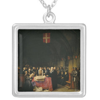 The Chapter of the Order of St. John of Jerusalem Silver Plated Necklace