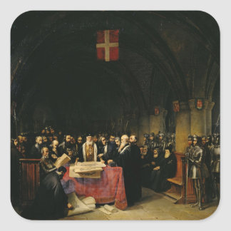 The Chapter of the Order of St. John of Jerusalem Square Sticker