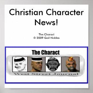 The Charact News Poster