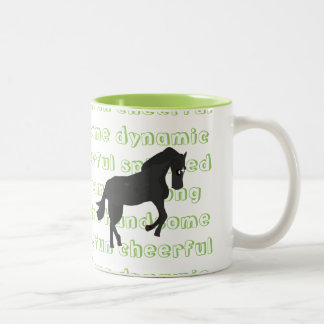 The Characteristic Horse Mug {Green}
