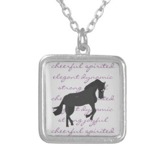The Characteristic Horse Pendant