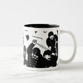 The Charge, 1893 Two-Tone Coffee Mug