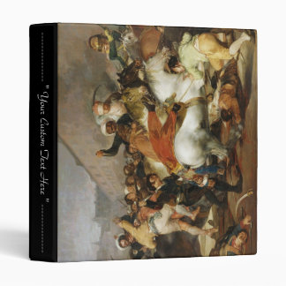 The Charge of Mamelukes Francisco José de Goya Binder