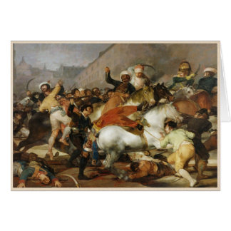 The Charge of Mamelukes Francisco José de Goya Card