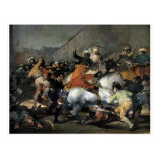 The Charge of the Mamelukes by Francisco Goya Postcard