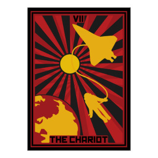 The Chariot Card Poster