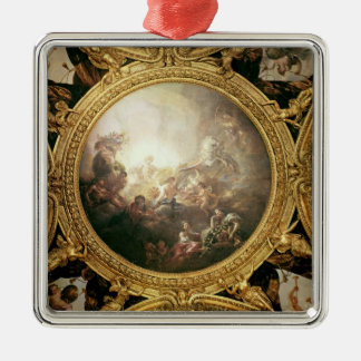 The Chariot of Apollo, ceiling painting Metal Ornament