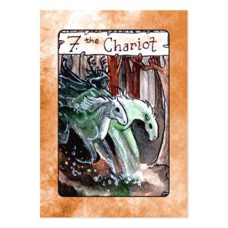 The Chariot Tarot Card Business Card