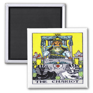 The Chariot Tarot Magnet