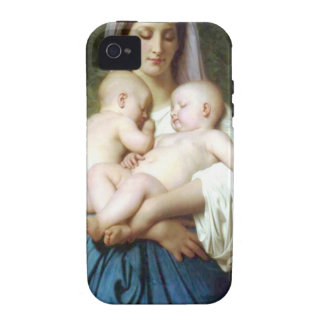 The Charity by William-Adolphe Bouguereau iPhone 4 Covers