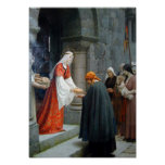The Charity Of St. Elizabeth Of Hungary Poster