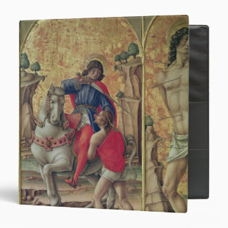 The Charity of St. Martin 3 Ring Binder