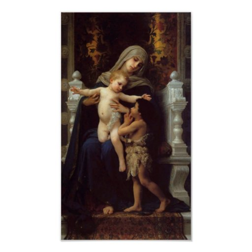 The Charity Poster by the Master Bouguereau