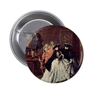 The Charlatan By Longhi Pietro (Best Quality) Pin