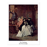 The Charlatan By Pietro Longhi Postcards