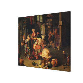 The Charlatan Canvas Prints