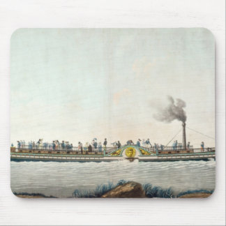 The Charles-Philippe, the first steamboat Mouse Pad
