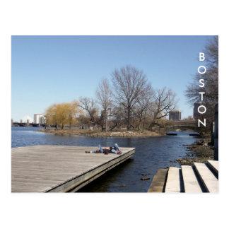 The Charles River Esplanade (color) Postcard