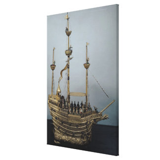 The Charles V automatic clock Canvas Print