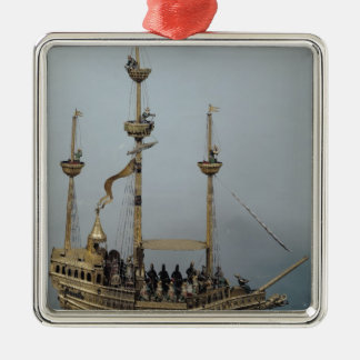 The Charles V automatic clock Christmas Ornament
