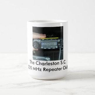 The Charleston 220 MHz Repeater Club Coffee Mug