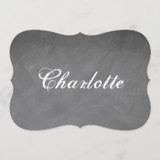 The Charlotte designed Note card
