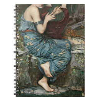 The Charmer by John William Waterhouse Notebook