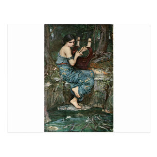 The Charmer by John William Waterhouse Postcard